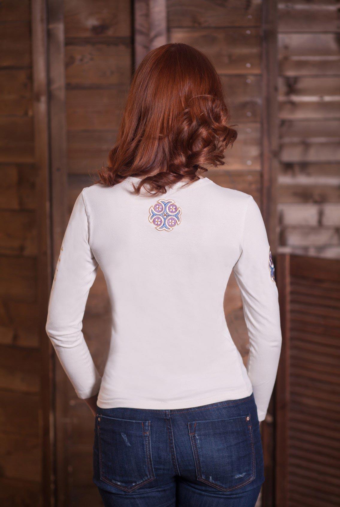 женская футболка с крестом, women's t-shirt with a cross