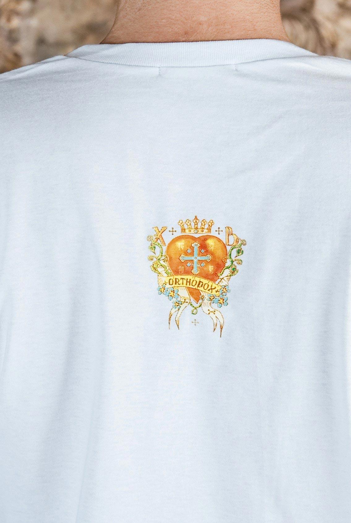 футболка с символами, T-shirt with symbols
