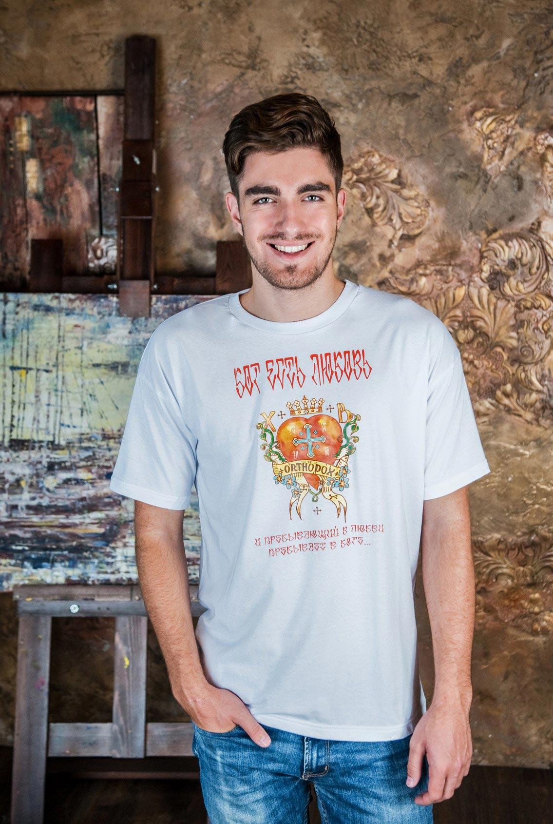 мужская футболка Христиания, men's T-shirt Christiania