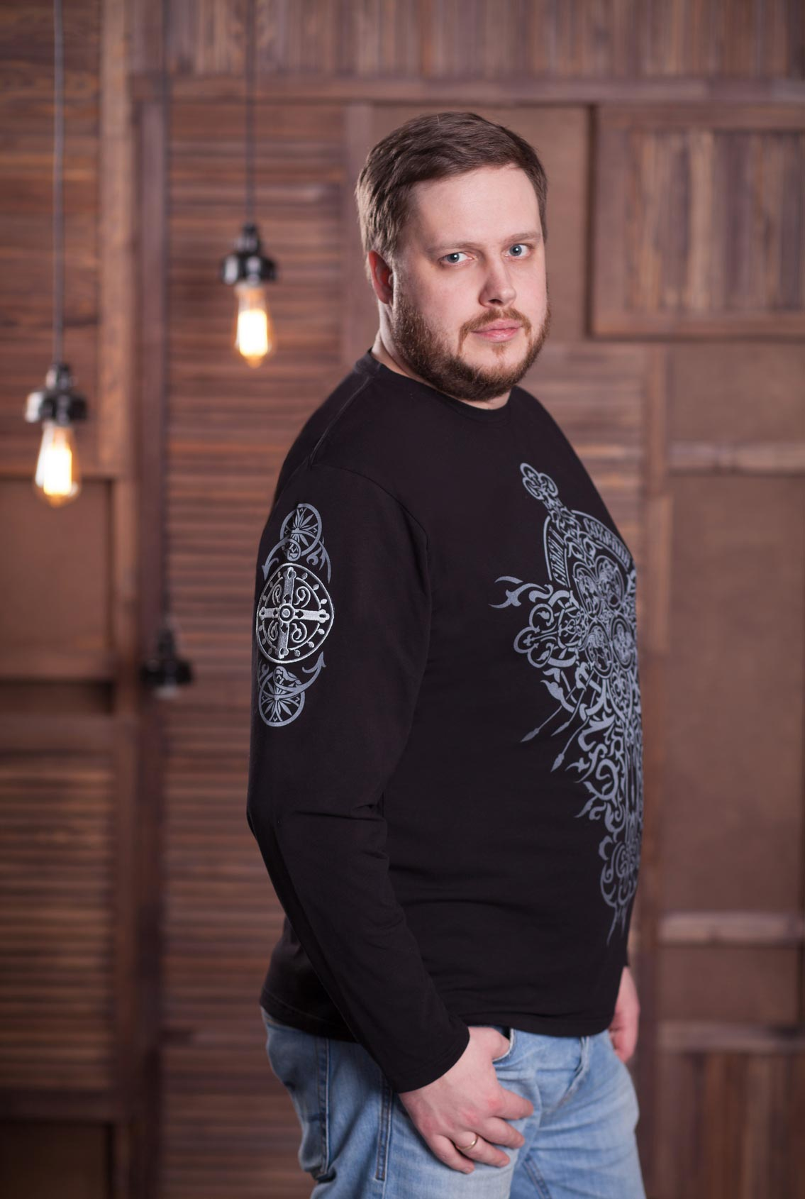футболка с православными символами, T-shirt with orthodox symbols