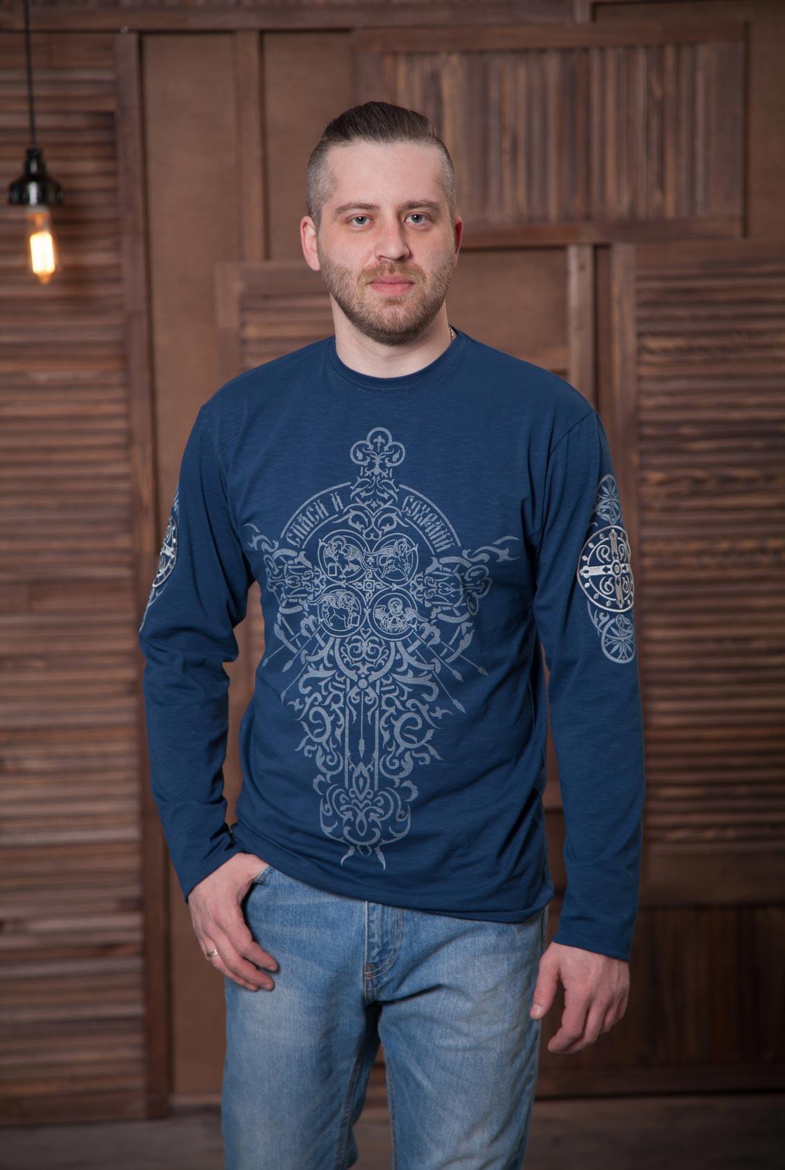 футболка с длинным рукавом, men long sleeve