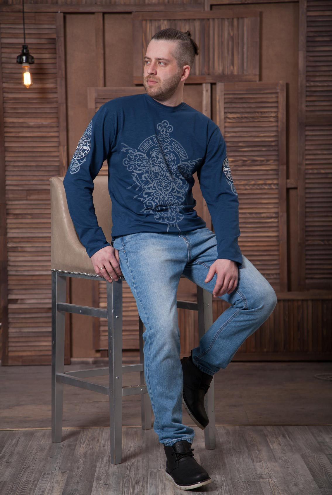 лонгслив Спаси и сохрани, long sleeve shirt