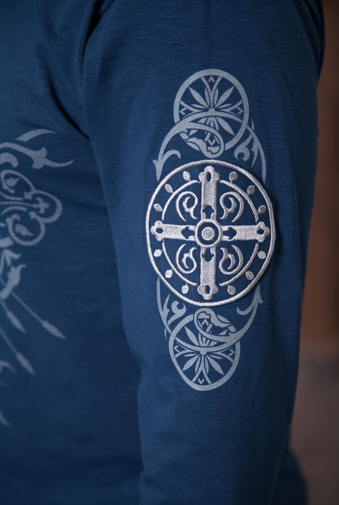футболка с вышивкой мужская, T-shirt with embroidery for men