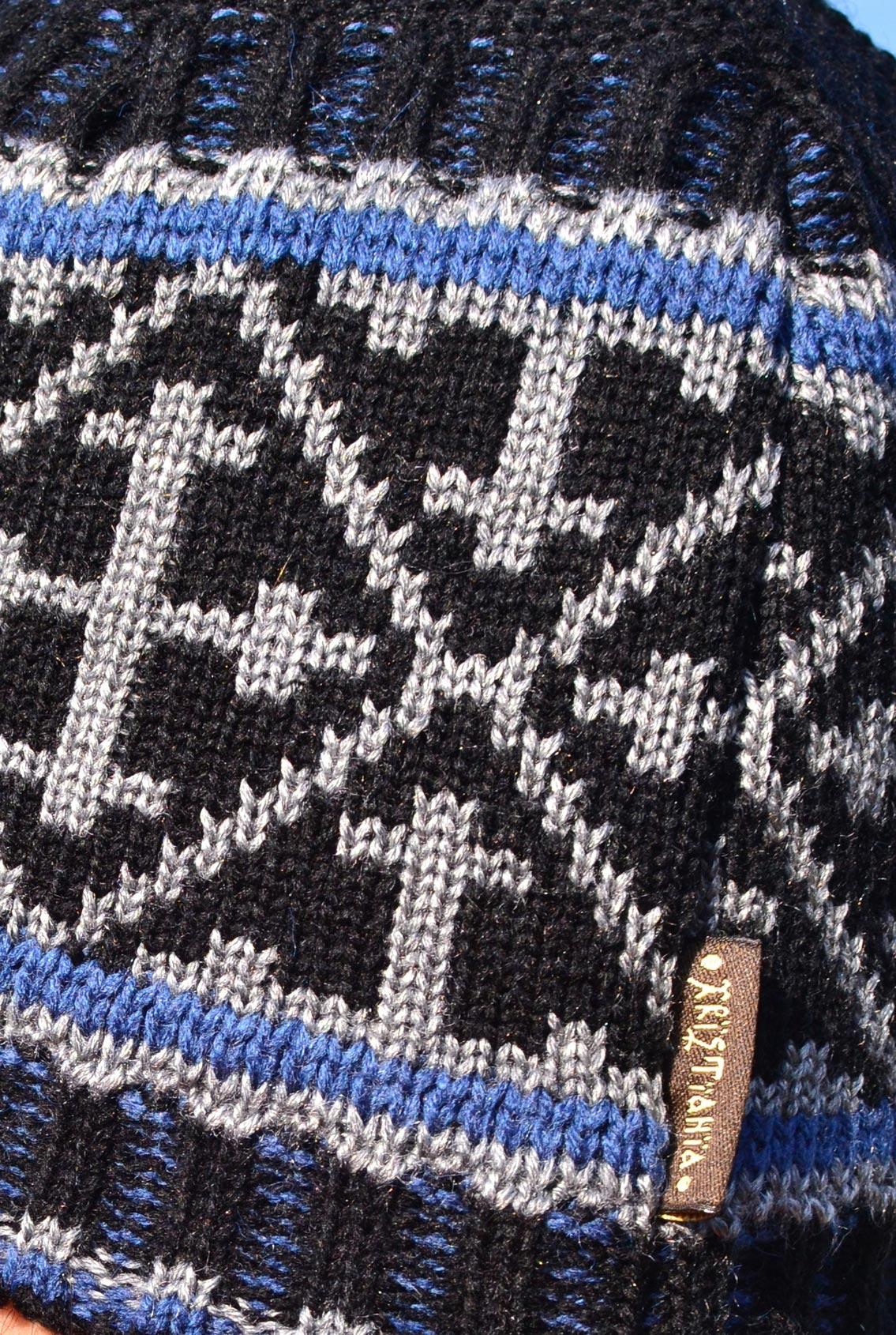 шапка с крестом для женщин, hat with a cross for women