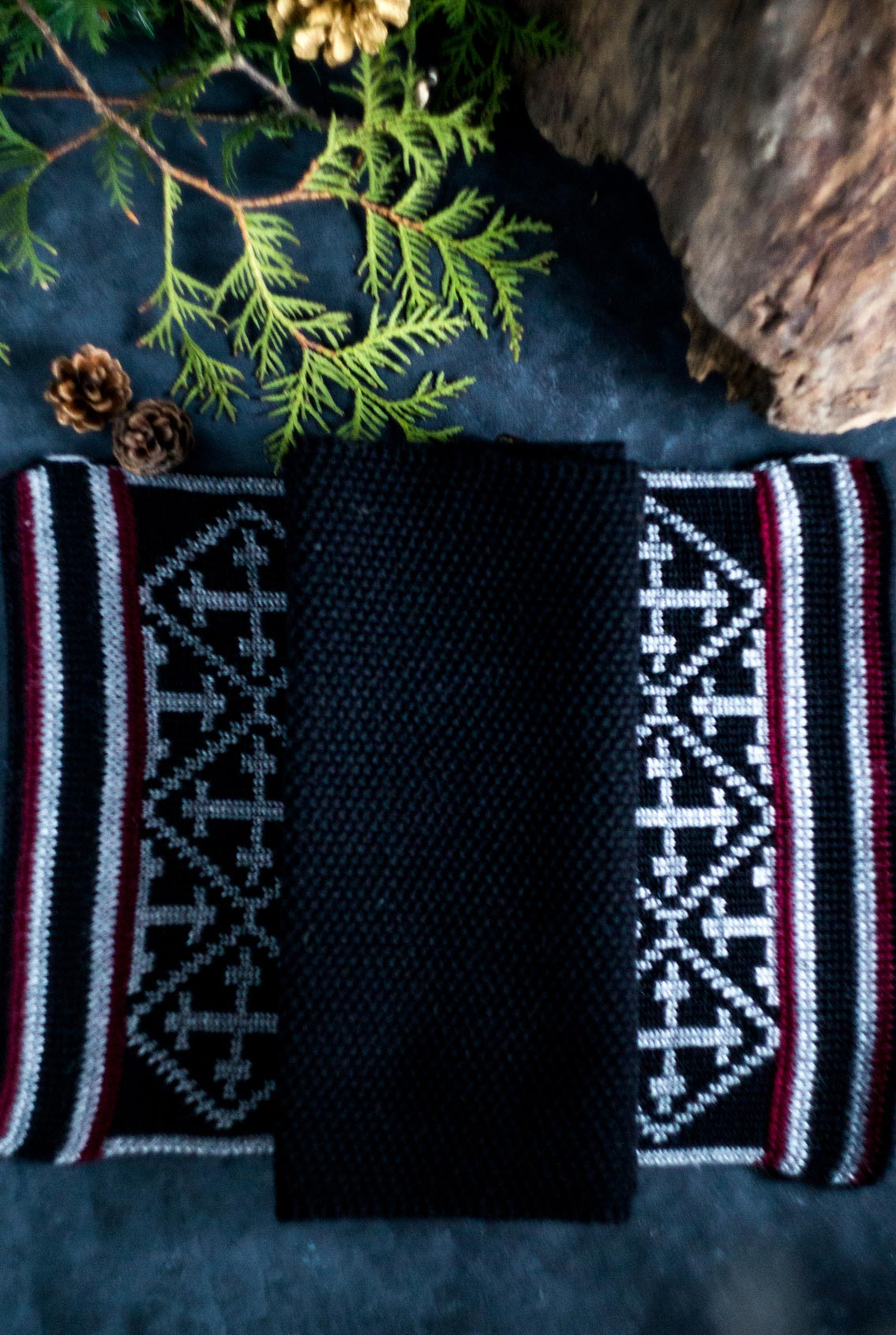 шерстяной шарф, woolen scarf