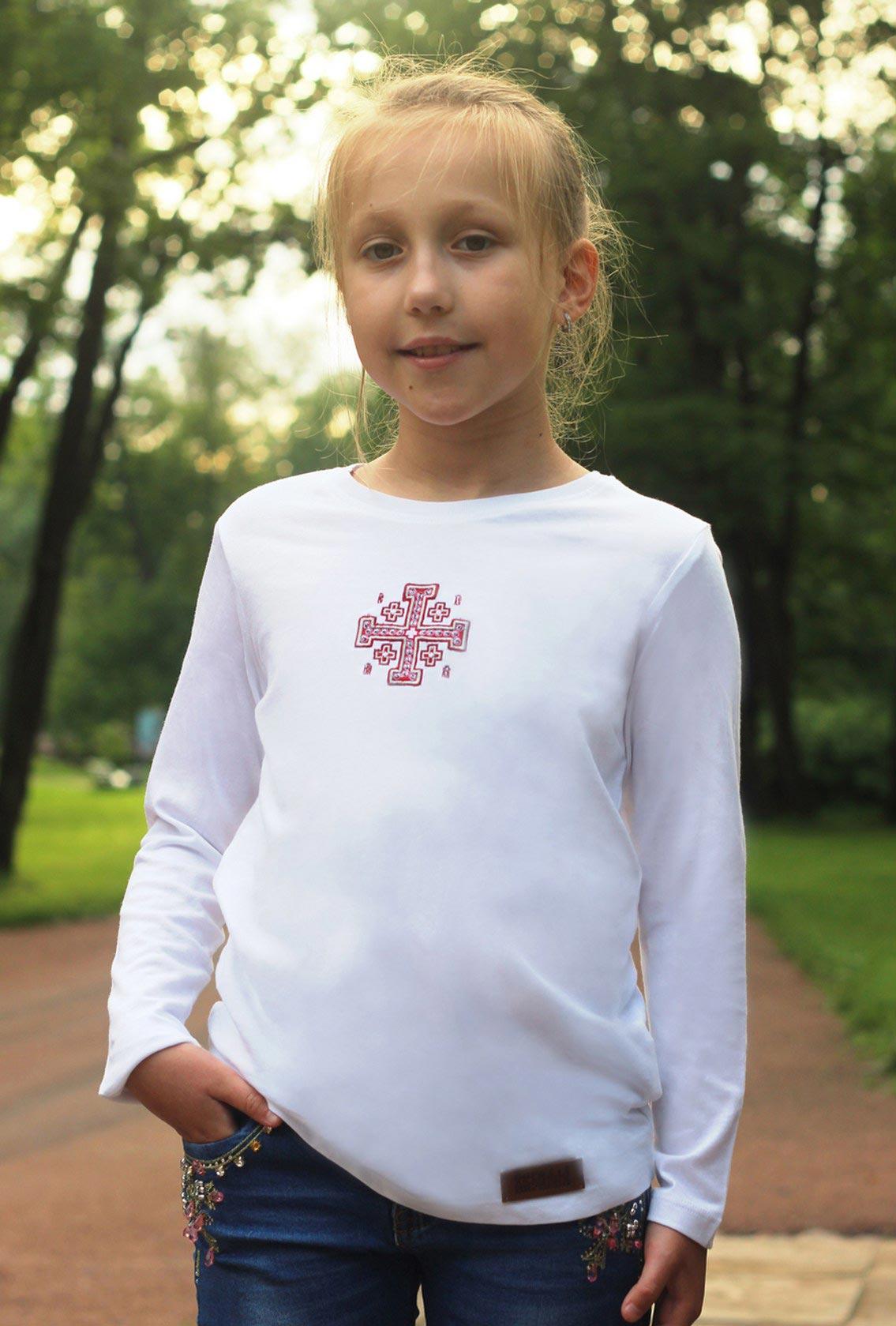 православная футболка для девочки, Orthodox T-shirt for girls