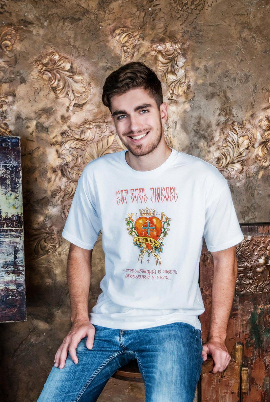 православная футболка