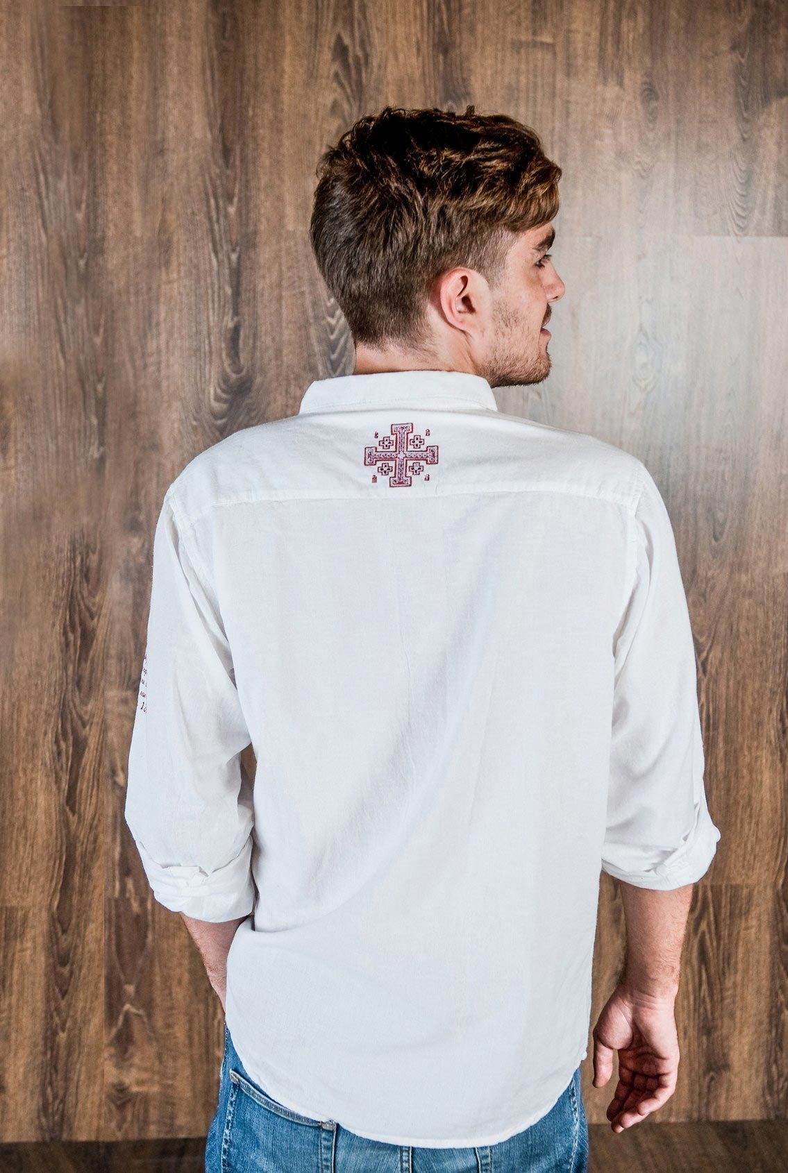 мужская рубашка Христиания, men's shirt Christiania