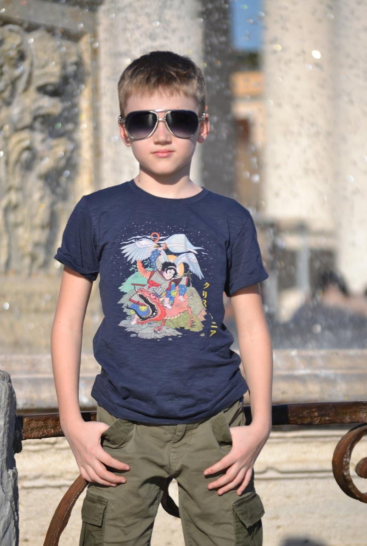 Футболка с Архангелом Михаилом,  T-shirt with the Archangel Michael