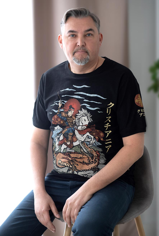 футболка с Георгием Победоносцем