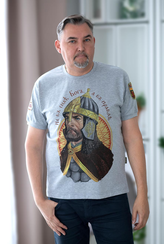 футболка александр невский