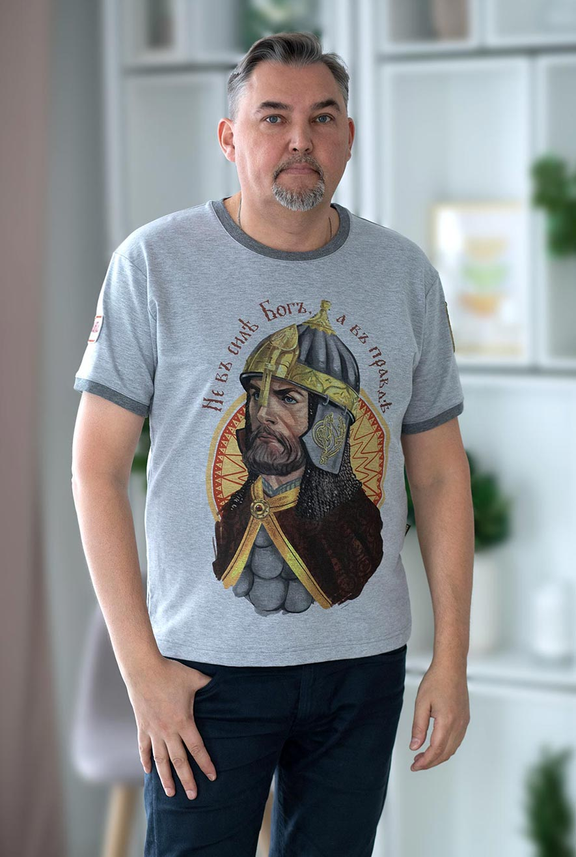 футболка не в силе Бог а в правде