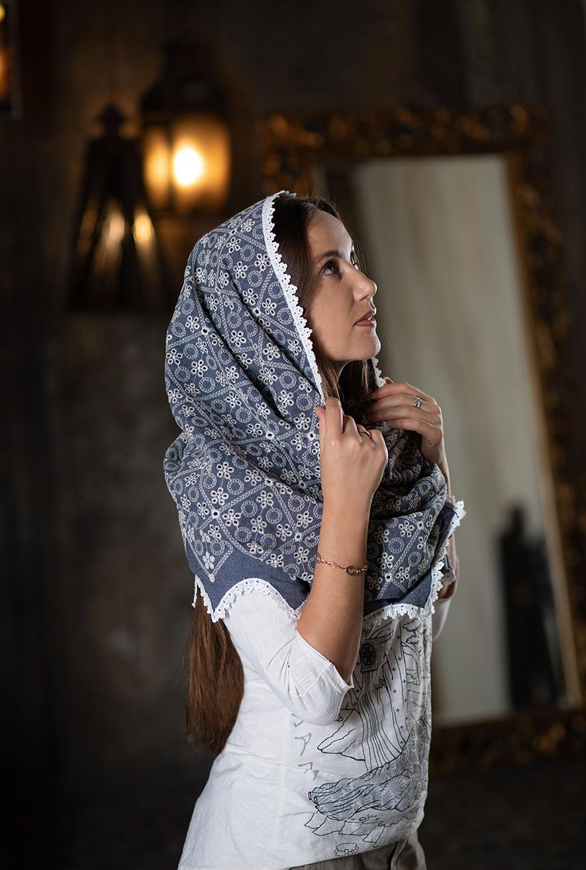 Платок женский для храма