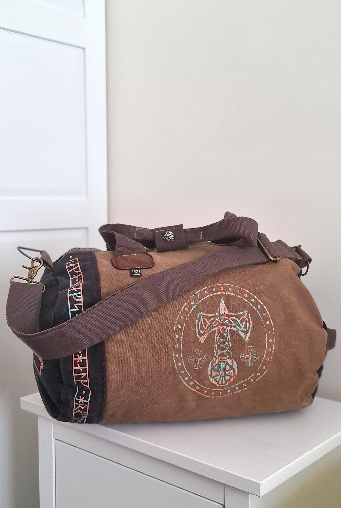 мягкая сумка с рунами