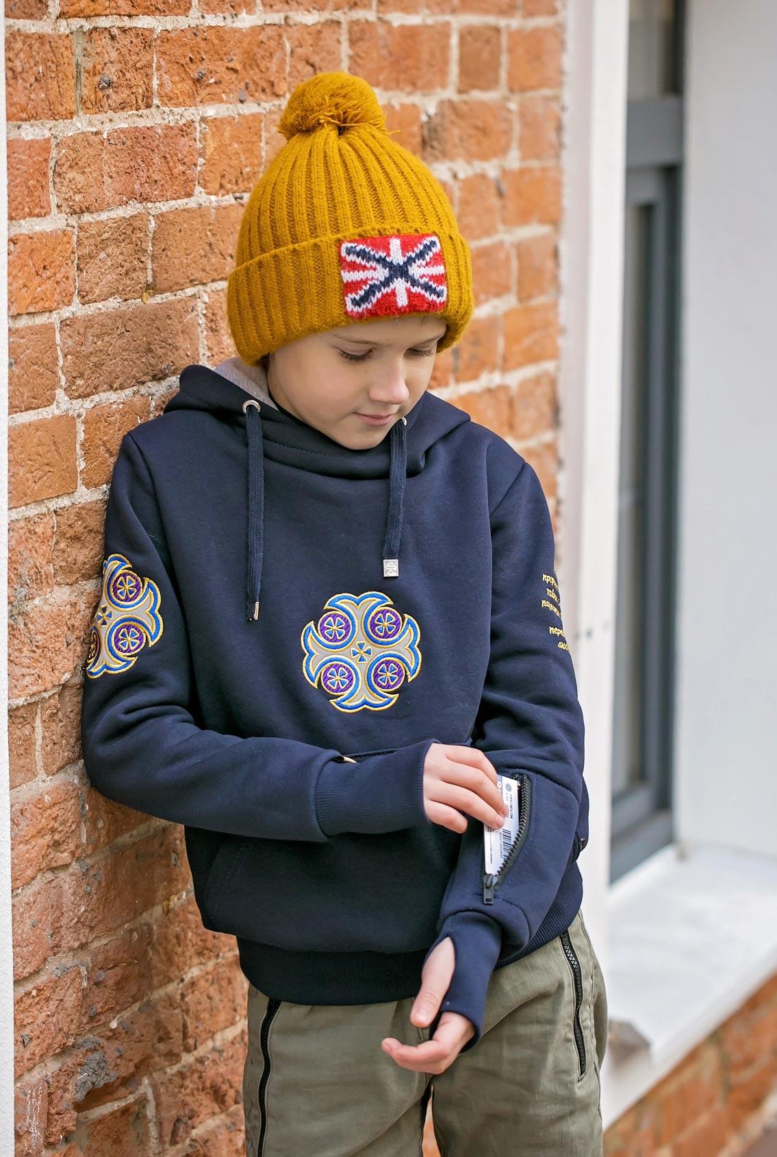 Зимняя вязаная шапка, Winter knitted hat