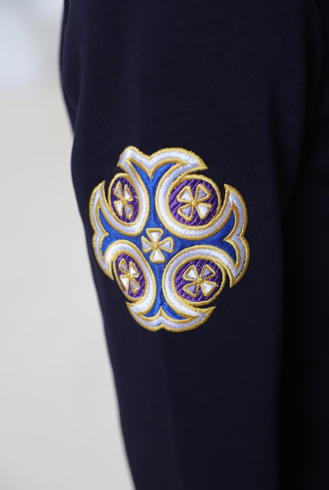 Толстовка с крестом, Sweatshirt with a cross