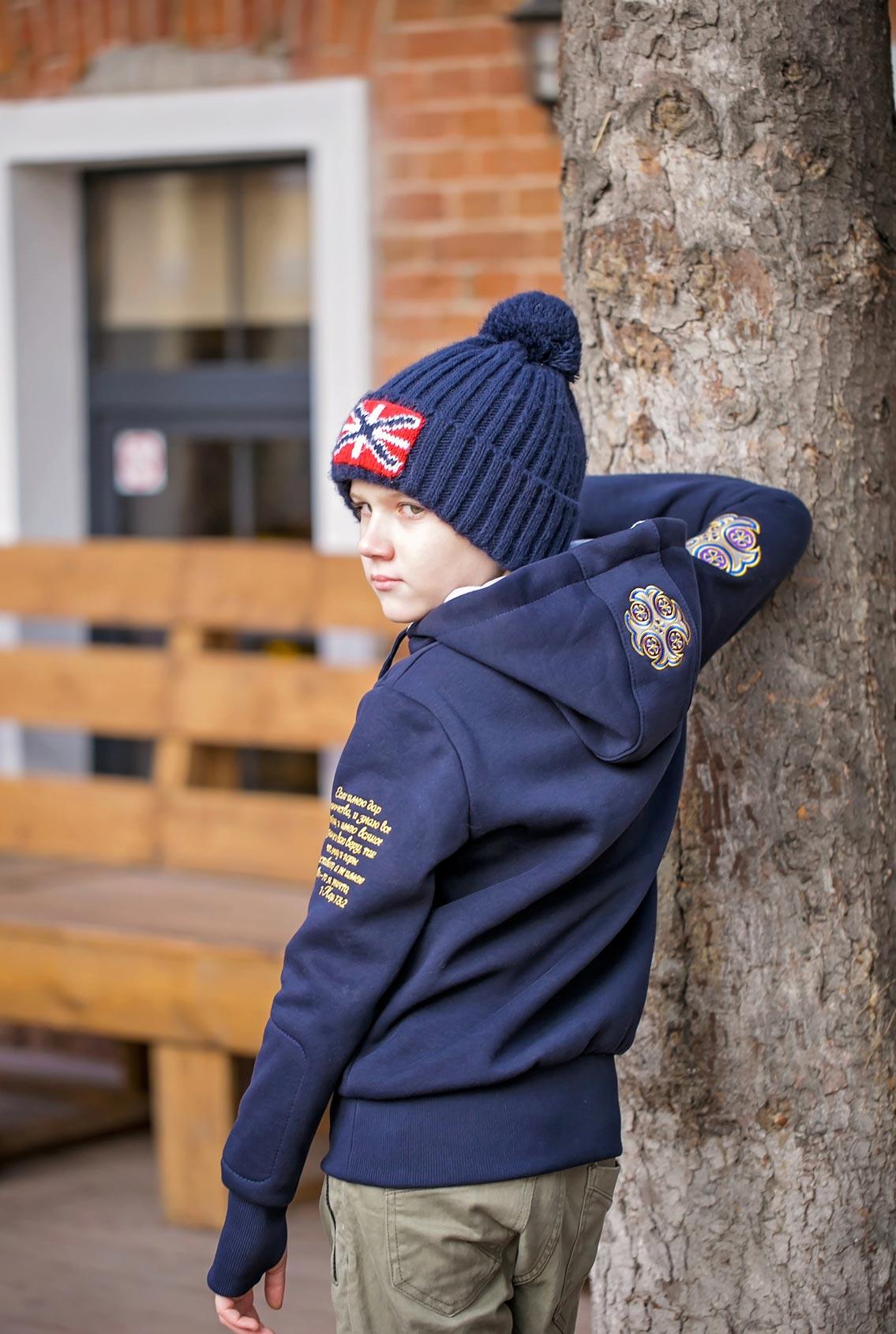 Военно-морская символика на одежде, Naval symbols on clothes
