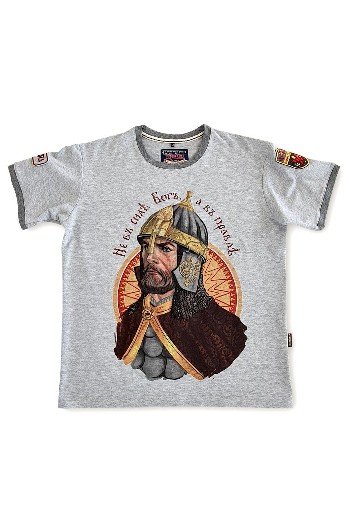 Не в силе Бог а в правде футболки