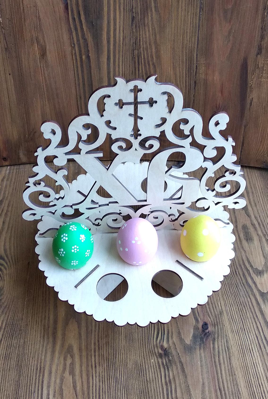 подставка под крашеные яйца