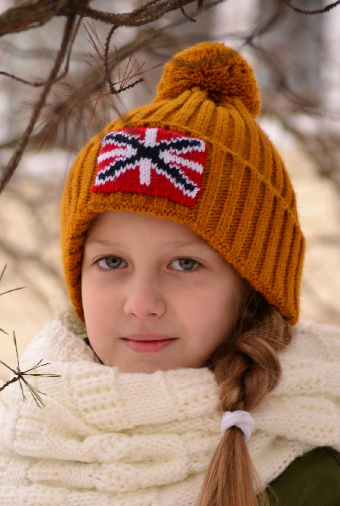 шапка с андреевским крестом, hat with St. Andrew's cross