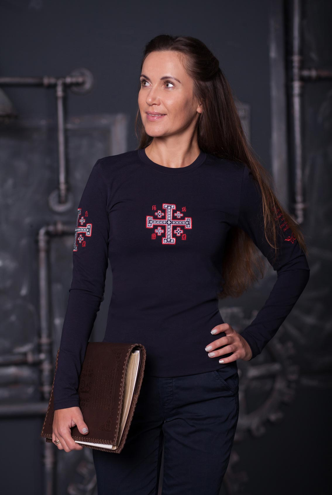 футболка с крестом, T-shirt with cross