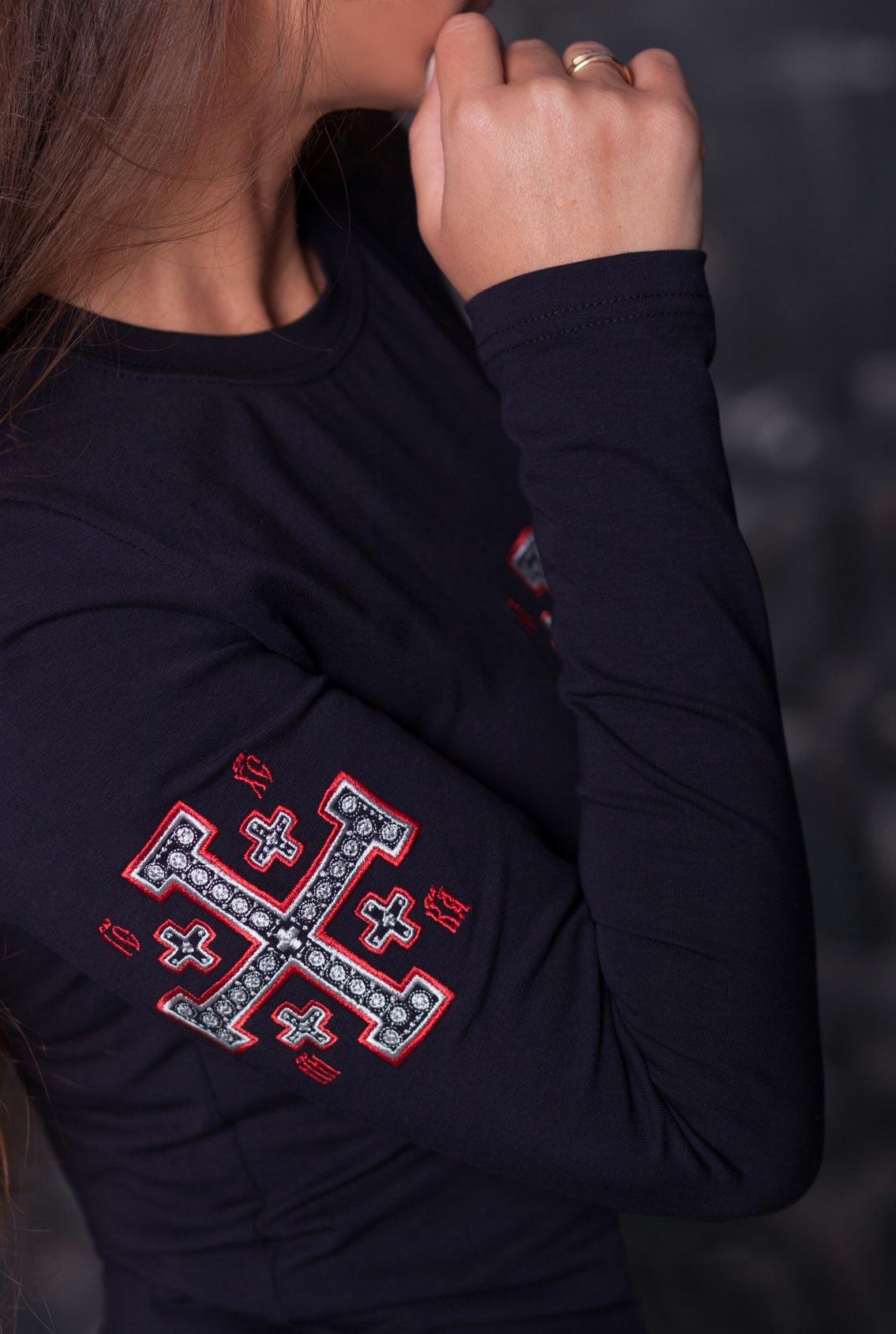 футболка с православным крестом, T-shirt with orthodox cross