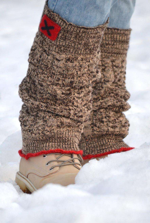 Knitted women's leggings